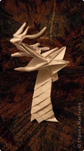 как сделать конверт для письма оригами. оригами пистолет.
