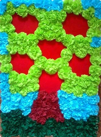 Мастер-класс Моделирование: Генеологическое Дерево Бумага, Бумага бархатная, Бумага гофрированная День семьи. Фото 7