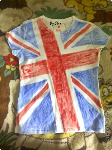 """Декор предметов Роспись:  """"Прикольные """" футболки для подростков."""