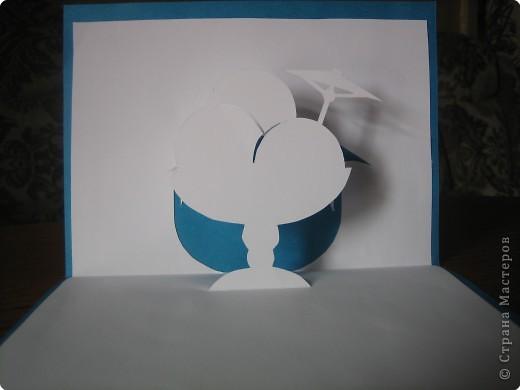 Открытка Киригами, pop-up: Открытки в стиле Рор uр и шаблоны Бумага. Фото 14