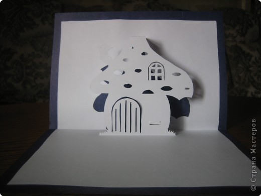 Открытка Киригами, pop-up: Открытки в стиле Рор uр и шаблоны Бумага. Фото 6