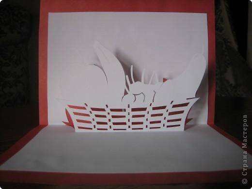 Открытка Киригами, pop-up: Открытки в стиле Рор uр и шаблоны Бумага. Фото 4