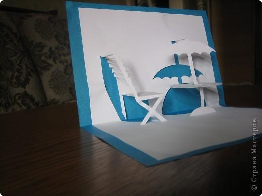 Открытка Киригами, pop-up: Открытки в стиле Рор uр и шаблоны Бумага. Фото 2