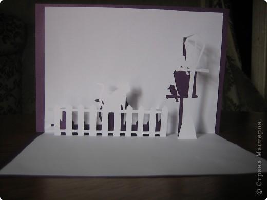Открытка Киригами, pop-up: Открытки в стиле Рор uр и шаблоны Бумага. Фото 1