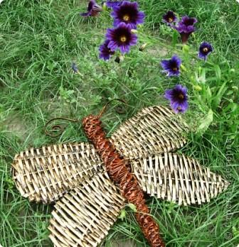 Мастер-класс Плетение: Бабочка.Газетное плетение.Учимся вместе. Бумага газетная. Фото 1