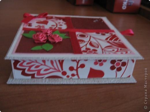 Поздравление Квиллинг: Моя коробочка для денег Бумага День рождения. Фото 2
