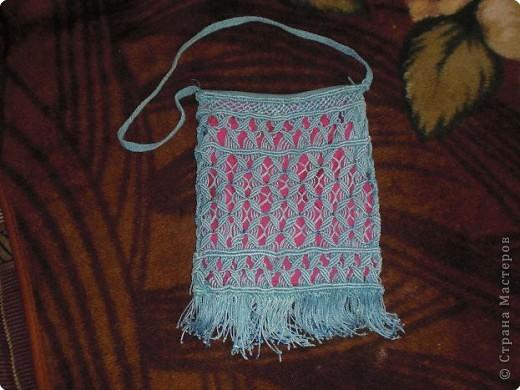 плетение сумок макраме схема.