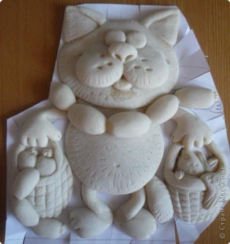 Мастер-класс Лепка: Кот с авоськами Тесто соленое. Фото 14