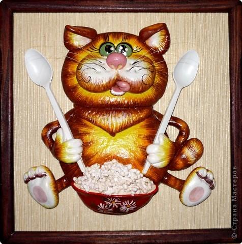 картинки с котами из соленого теста