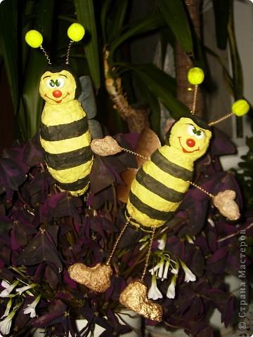 Пчелки из бросового материала своими руками 65