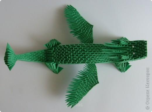 модульное оригами дракон страна мастеров. рубашка оригами.