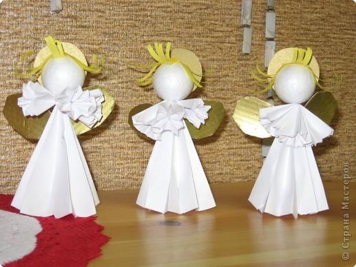 Как делать ангелов из бумаги своими руками