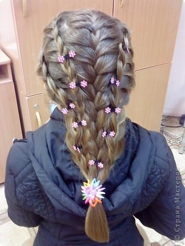 Как сделать причёску в школу на длинные волосы