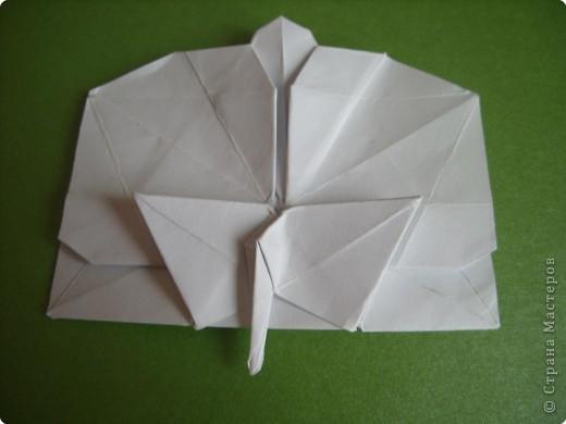 Мастер-класс Оригами: Орхидея МК Бумага. Фото 64
