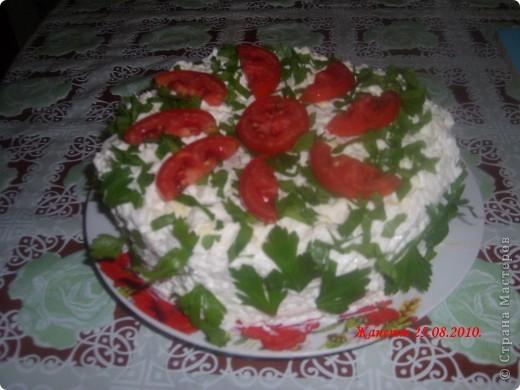 Мастер-класс,  Рецепт кулинарный, : КУРИНЫЙ ТОРТИК Продукты пищевые День рождения,