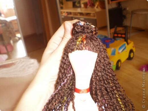 Куклы Шитьё: МК Ангел-хранитель Ткань. Фото 16