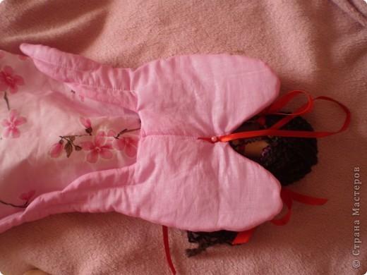 Куклы Шитьё: МК Ангел-хранитель Ткань. Фото 18