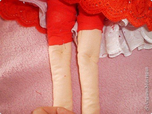 Куклы Шитьё: МК Ангел-хранитель Ткань. Фото 7