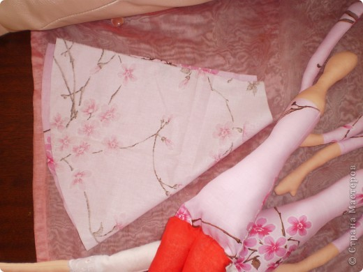 Куклы Шитьё: МК Ангел-хранитель Ткань. Фото 8