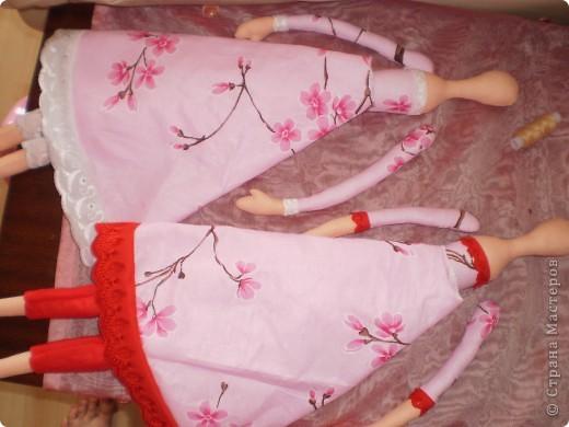Куклы Шитьё: МК Ангел-хранитель Ткань. Фото 9