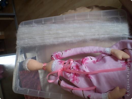 Куклы Шитьё: МК Ангел-хранитель Ткань. Фото 12