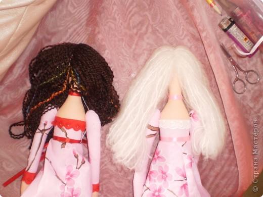 Куклы Шитьё: МК Ангел-хранитель Ткань. Фото 14