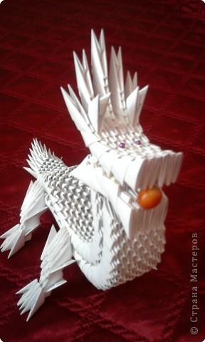Как сделать поделку оригами из белой бумаги