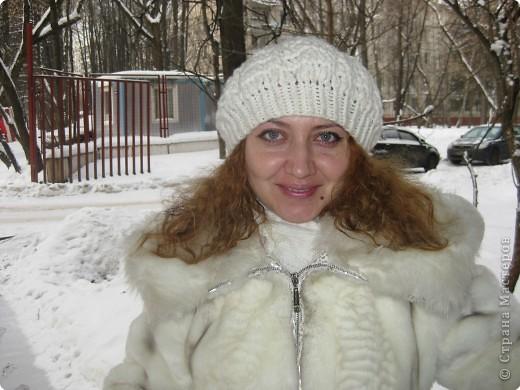 Вязание зимних беретов