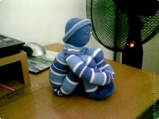Куклы Шитьё: Первая работа - Кукла из носков. Носки. Фото 2