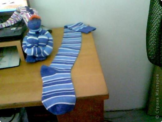 Куклы Шитьё: Первая работа - Кукла из носков. Носки. Фото 1