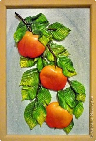 Лепим и расскрашиваем яблоки из теста P1100489-m