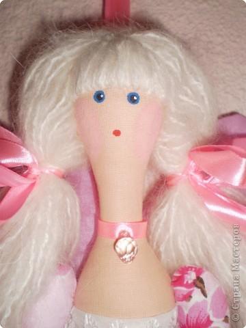 Куклы Шитьё: МК Ангел-хранитель Ткань. Фото 19