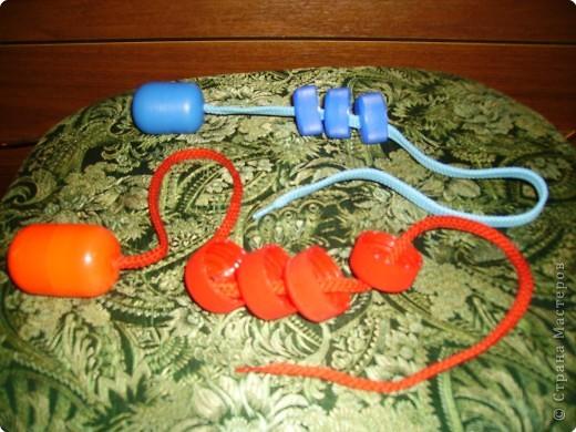 Развивающие игрушки из бросового материала