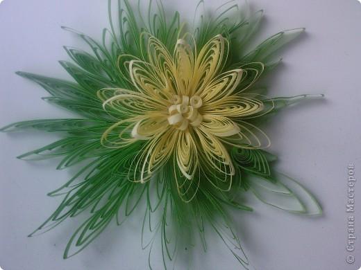 Декор предметов Квиллинг: объёмные цветы Бумага Дебют. Фото 3