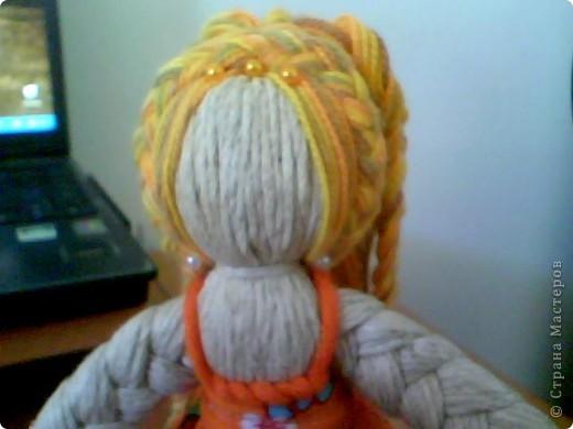 Куклы Плетение: Кукла из веревочек. .  Фото 8.