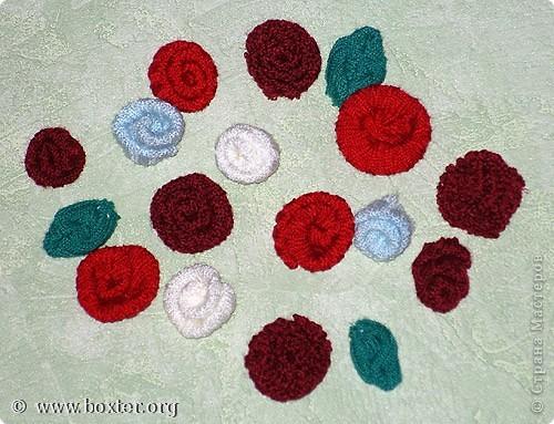 Мастер-класс Шитьё: Цветы из трикотажа Материал бросовый.  Фото 4.