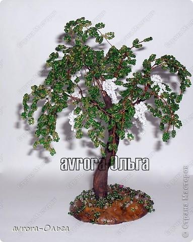 Деревья Бисер, Гипс,