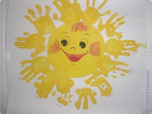 Как нарисовать солнышко своими руками