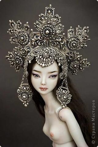Фарфоровые куклы Марины Бычковой Elena_the_beautiful