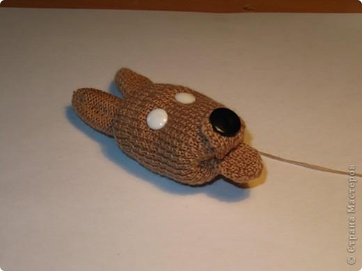 Игрушка, Мастер-класс,  Шитьё, : Собачка из перчаток Материал бросовый . Фото 12