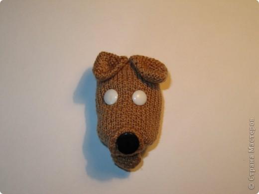Игрушка, Мастер-класс,  Шитьё, : Собачка из перчаток Материал бросовый . Фото 14