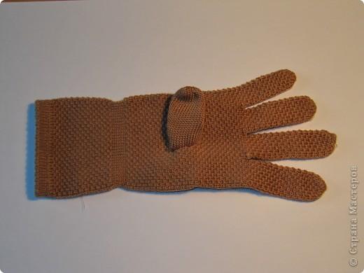 Игрушка, Мастер-класс,  Шитьё, : Собачка из перчаток Материал бросовый . Фото 16