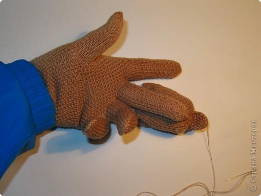 Игрушка, Мастер-класс,  Шитьё, : Собачка из перчаток Материал бросовый . Фото 17