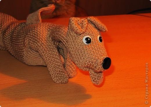 Игрушка, Мастер-класс,  Шитьё, : Собачка из перчаток Материал бросовый . Фото 18