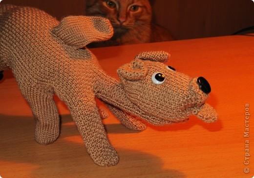 Игрушка, Мастер-класс,  Шитьё, : Собачка из перчаток Материал бросовый . Фото 19