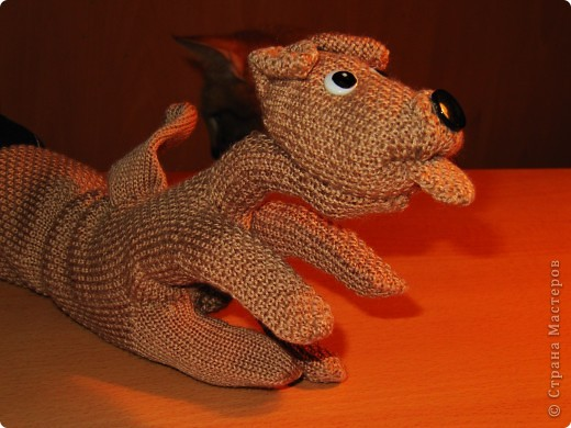 Игрушка, Мастер-класс,  Шитьё, : Собачка из перчаток Материал бросовый . Фото 20