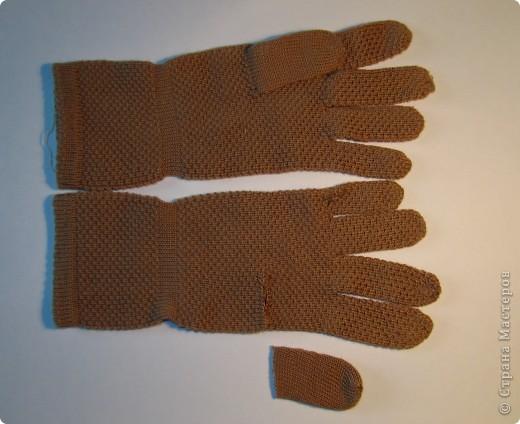 Игрушка, Мастер-класс,  Шитьё, : Собачка из перчаток Материал бросовый . Фото 3