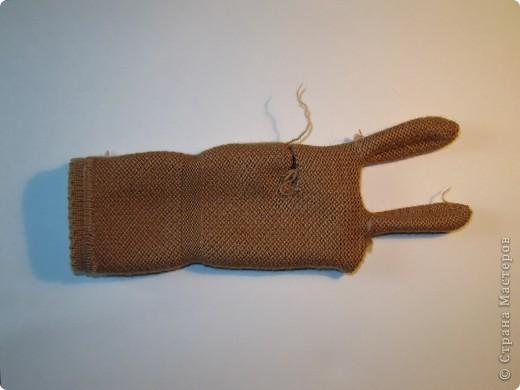 Игрушка, Мастер-класс,  Шитьё, : Собачка из перчаток Материал бросовый . Фото 4