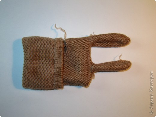 Игрушка, Мастер-класс,  Шитьё, : Собачка из перчаток Материал бросовый . Фото 5