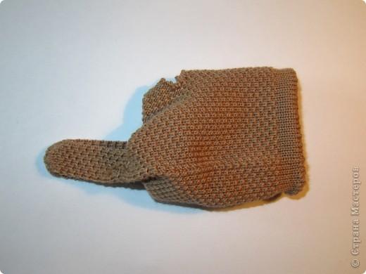 Игрушка, Мастер-класс,  Шитьё, : Собачка из перчаток Материал бросовый . Фото 6
